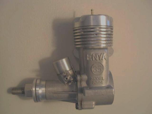 Enya 35 model 5224 and OS max 40sr Enya3510