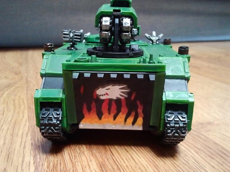 [Space marines-Peinture] Des lézards pyroman Razor_12