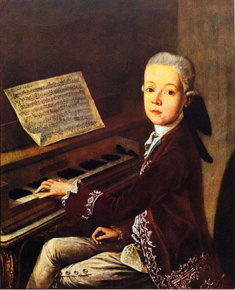 موتسارت (الطفل المعجزة) احد عباقرة الموسيقى الذين رحلوا زهورا Mozart10