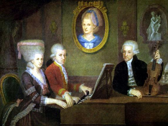 موتسارت (الطفل المعجزة) احد عباقرة الموسيقى الذين رحلوا زهورا Mozart11