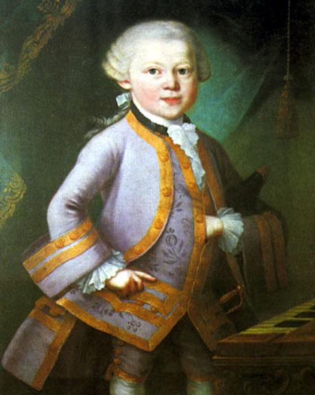 موتسارت (الطفل المعجزة) احد عباقرة الموسيقى الذين رحلوا زهورا Mozart12