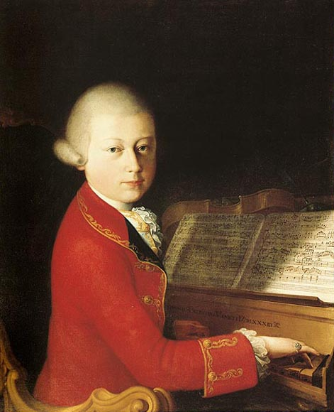 السيمفونية رقم 28 من اعمال موتسارت  Mozart16