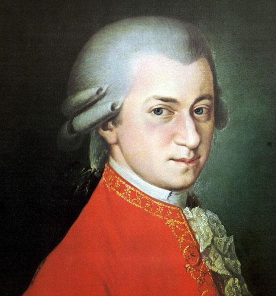 موتسارت (الطفل المعجزة) احد عباقرة الموسيقى الذين رحلوا زهورا Wolfga11