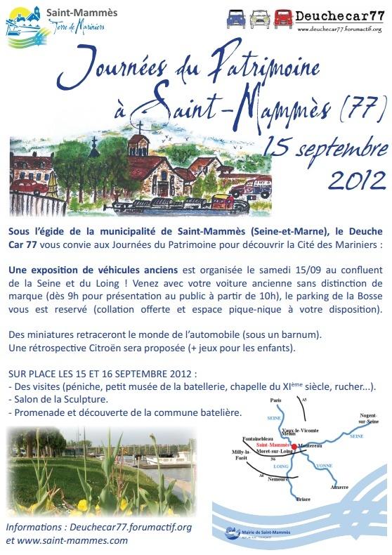 Manifestation St-Mammès le 15 septembre 2012 Affich11