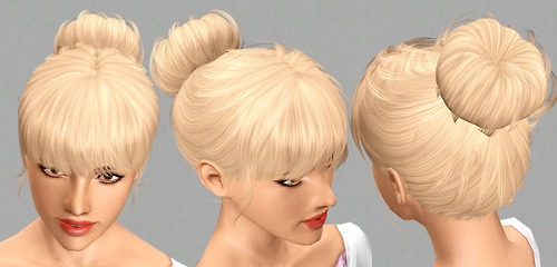 S-Club Privee Hair Mesh N3 — Chignon Tumblr11