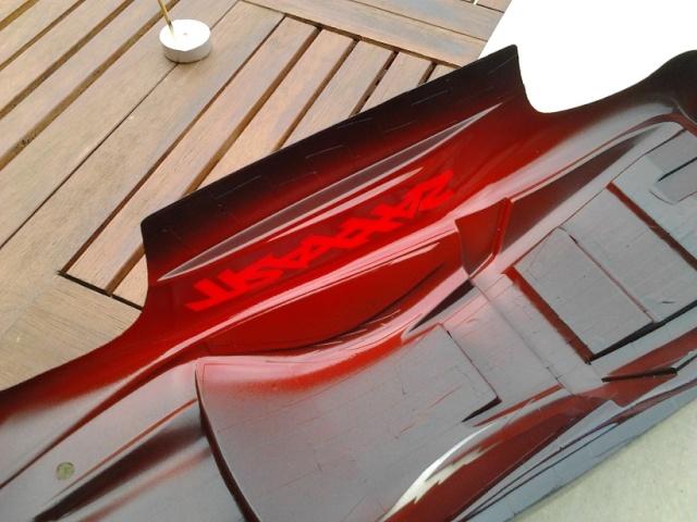 nouveaux look pour mon Erevo 1ere peinture carrosserie   315