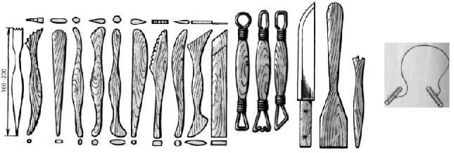 Инструменты гончара Dddndn10