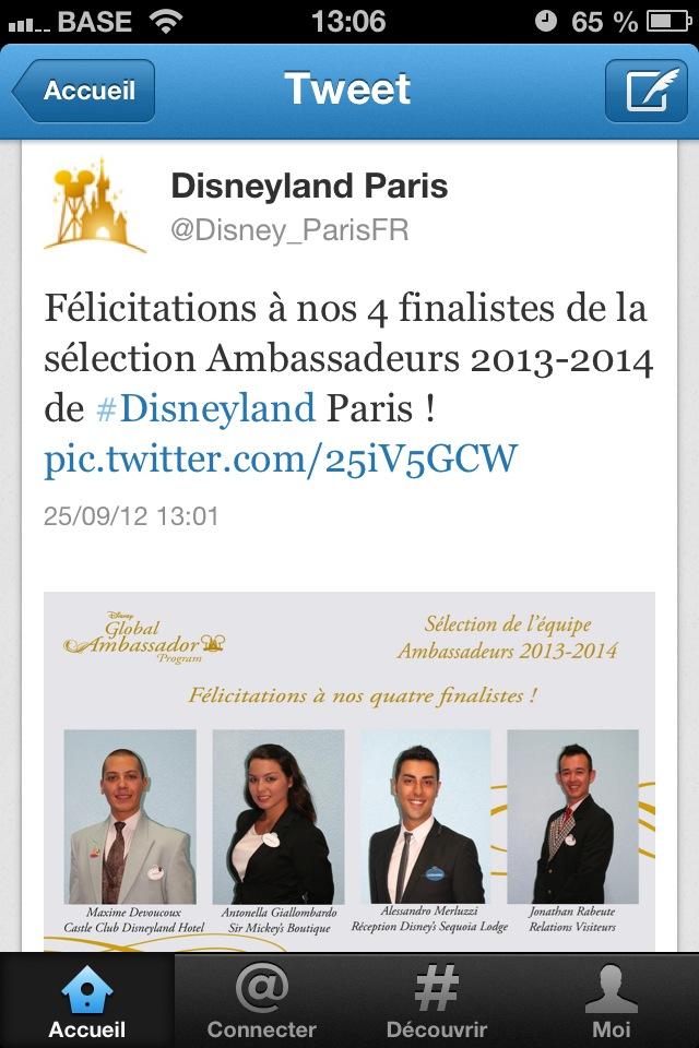 [2022-2023] Le programme Ambassadeur Disney (présentation, nouveaux Ambassadeurs...) - Page 3 Photo10