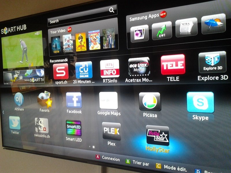 Hollystar disponible sur SmartTV 20120911