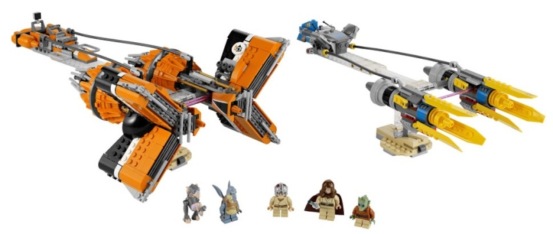 7962 Anakin's and Sebulba's Podracers review 7962-110