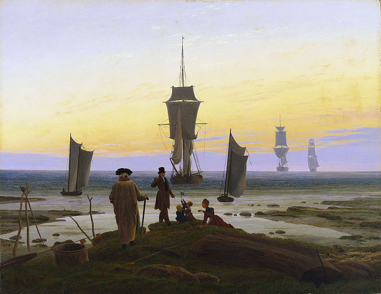Caspar David Friedrich (1774-1840) Agesde10