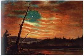 Frederic Edwin Church (1826-1900) Flag10