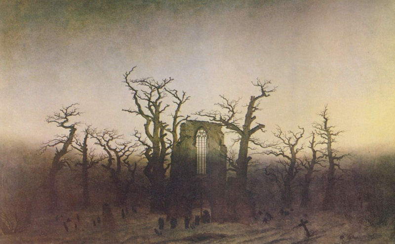 Caspar David Friedrich (1774-1840) Labbay10