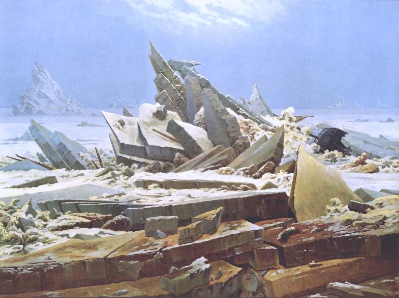 Caspar David Friedrich (1774-1840) Lamerd10