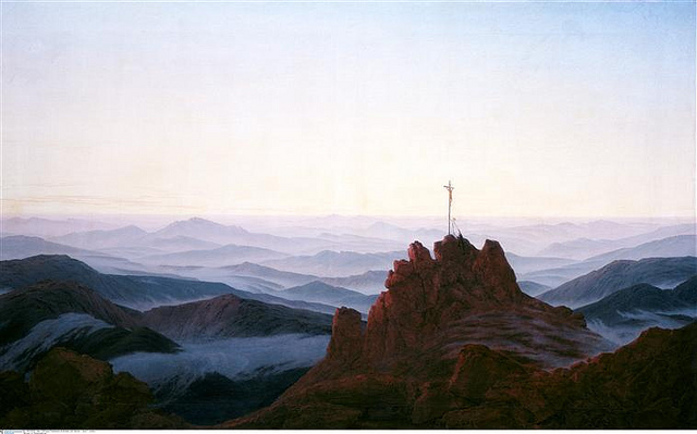 Caspar David Friedrich (1774-1840) Matin_10