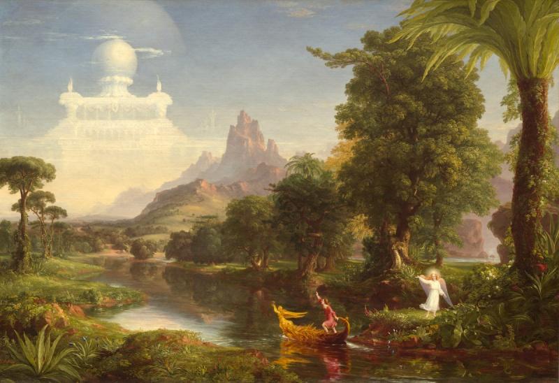 THOMAS COLE (1801-1848) Voyage10