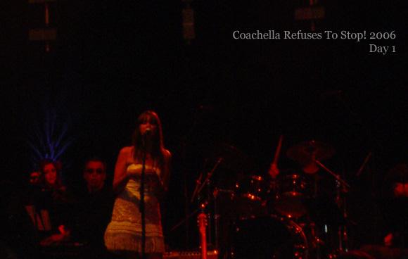 """4/29/06 - Indio, CA, """"Coachella Festival"""" 4-29-017"""