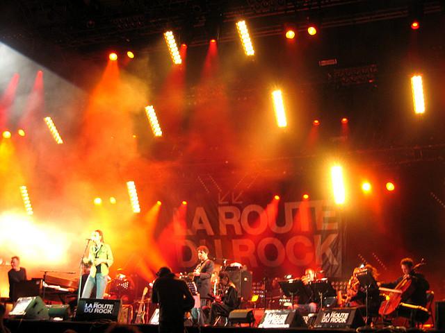 """8/12/06 - St. Malo, France, Fort de St Père, """"La Route Du Rock Festival"""" 8-12-012"""
