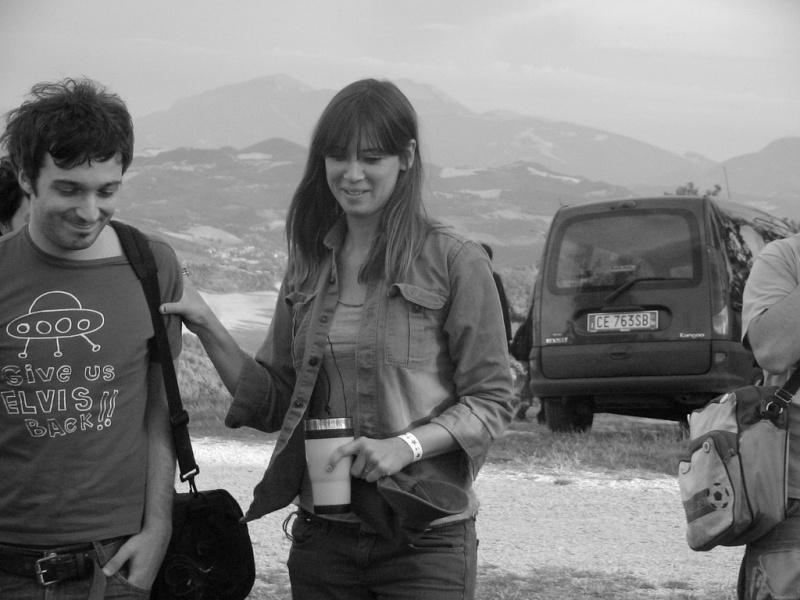 """8/5/06 - Urbino, Italy, Fortezza Albornoz, """"Frequenze Disturbate Festival"""" 8-5-0611"""