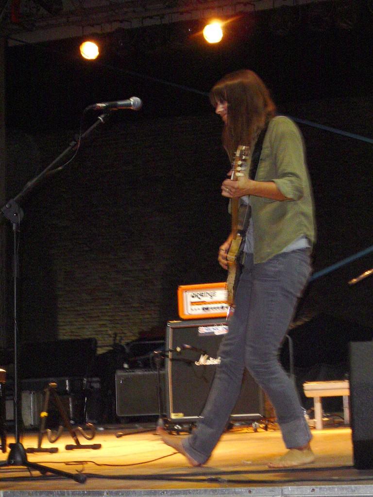 """8/5/06 - Urbino, Italy, Fortezza Albornoz, """"Frequenze Disturbate Festival"""" 8-5-0619"""