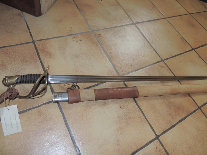 Sabre 1882 de cuirassier pourvu d'une lame de 54/82 de carabinier Dscn1610