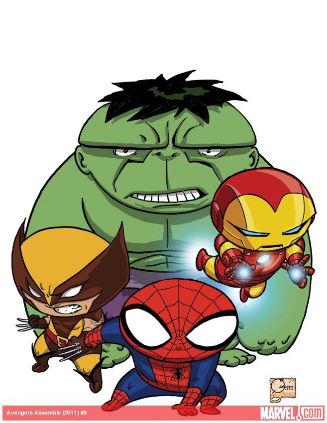 Avengers Assemble (Couverture Spoilers) 502a7710