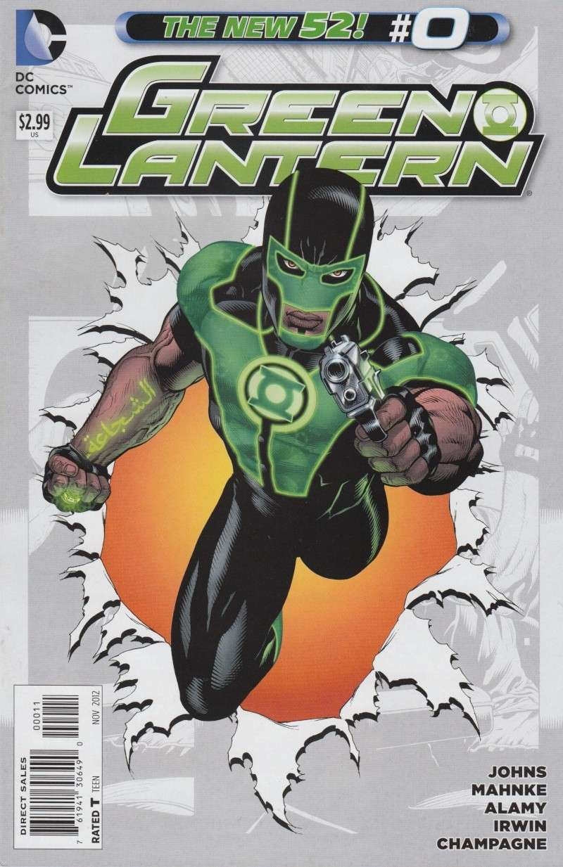 Green Lantern (New 52) Bazzla10