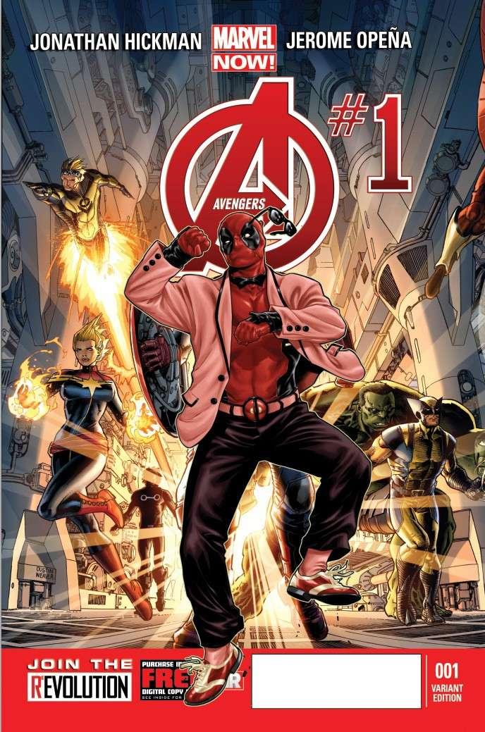 Avengers #1 Deadpo12
