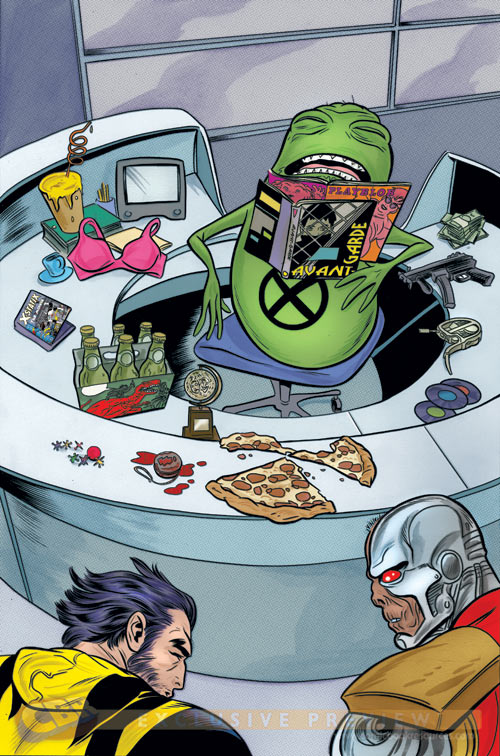 Wolverine and the X-men 18 Doop10