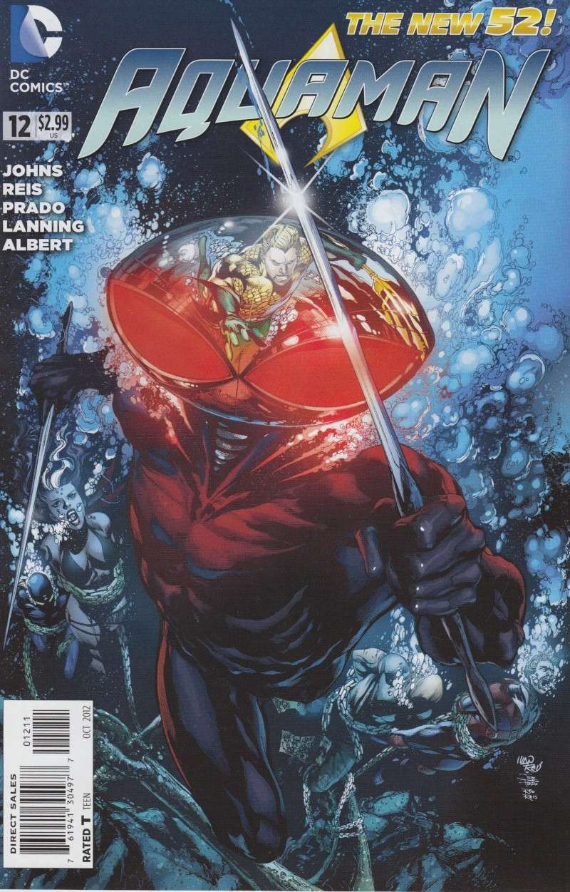 Aquaman (New 52) Mantea10