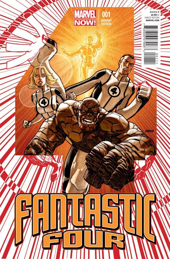 Fantastic Four 1 (Marvel Now) Marvel13
