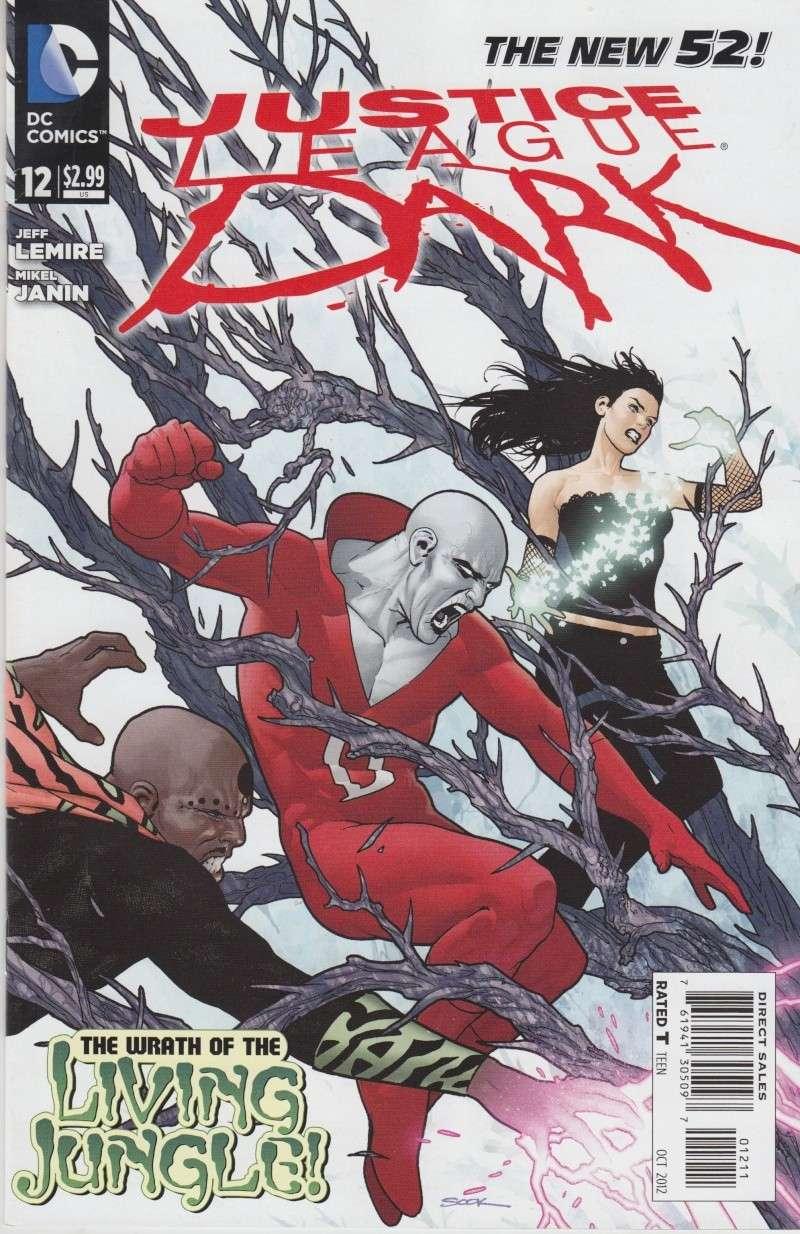 Justice League Dark (New 52) Mist10