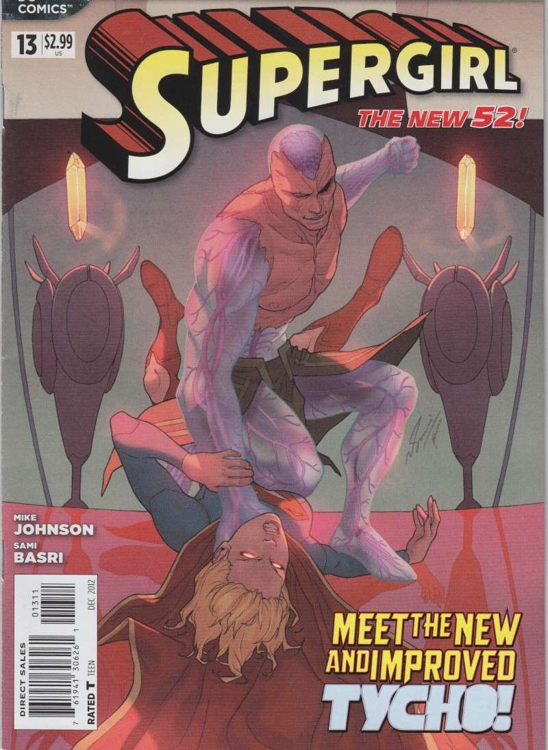 Supergirl (New 52) Tycho10