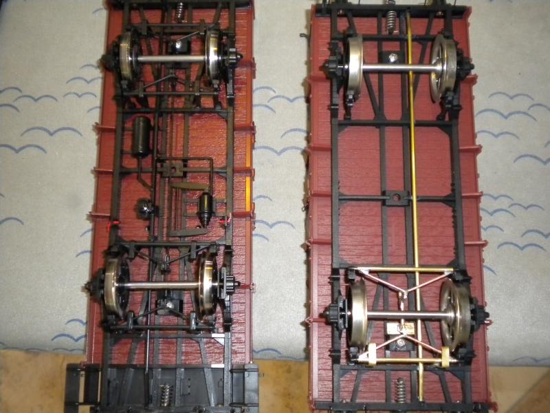 Fabrication du système de freinage sous un wagon tombereau  Dscn1323