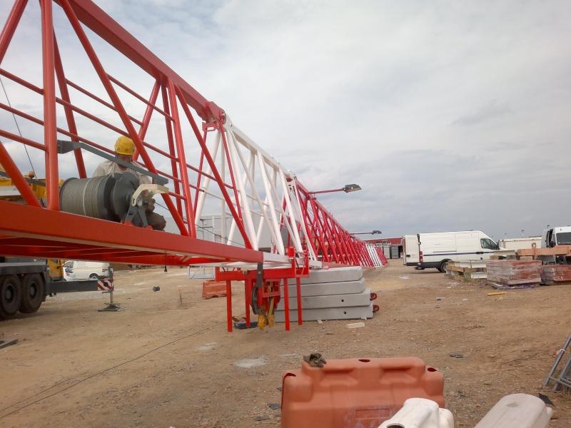 Montage de grues 210