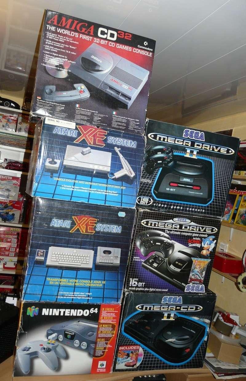 Sega vintage: Megadrive, Mastersystem,Saturn et jeux P1060812