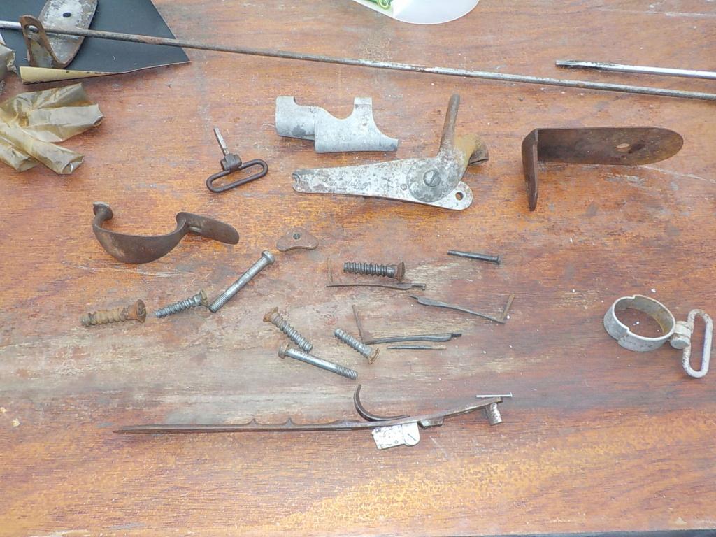 1840 et 1866 marine + pistolet a balles forcées Pieces10
