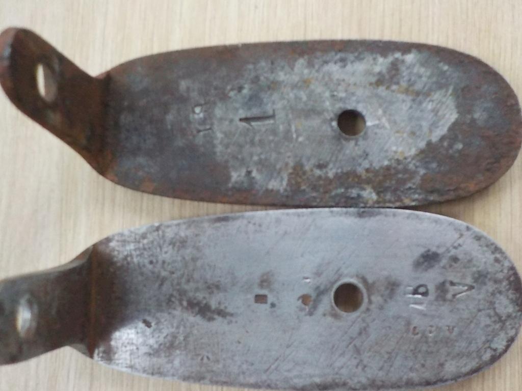 1840 et 1866 marine + pistolet a balles forcées Restau17