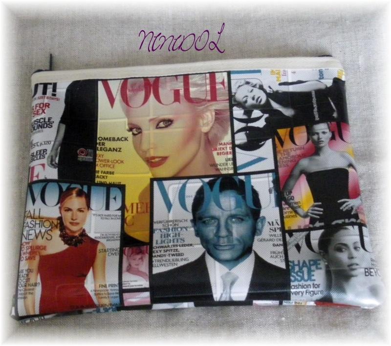 """Trousse à maquillage """"Vogue"""" 01910"""