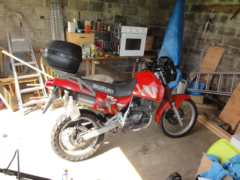 From Dr 650 Rse To Own Tracker Dsc00612