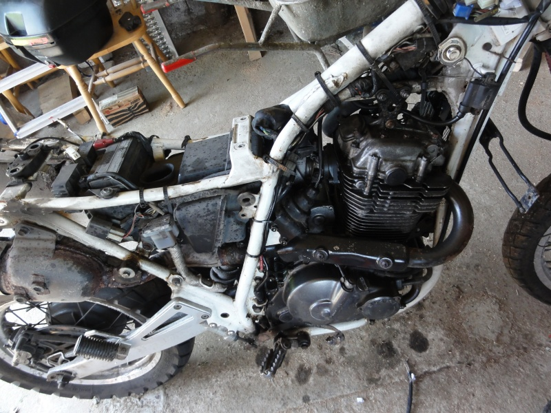 From Dr 650 Rse To Own Tracker Dsc00614
