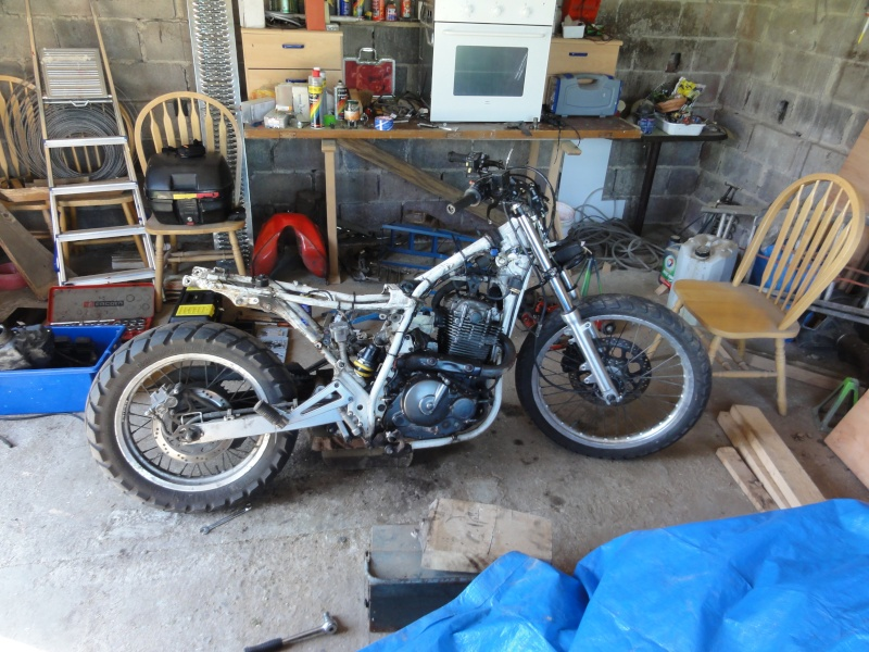 From Dr 650 Rse To Own Tracker Dsc00616