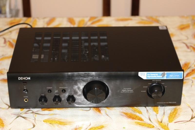 Denon PMA-520AE Img_2311