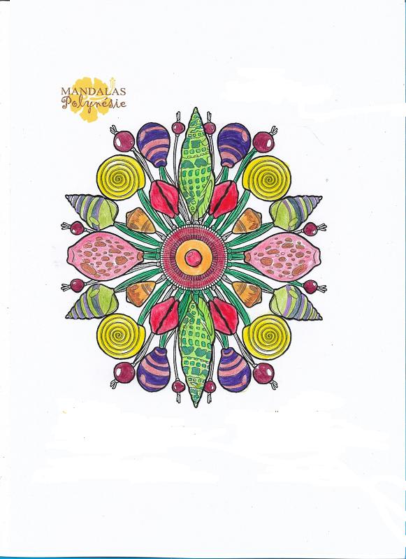 Les coloriages de Poppy ... - Page 5 Mandal13