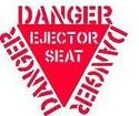 Adesivos para modelismo Danger10