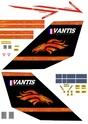 Adesivos para modelismo Vantis11