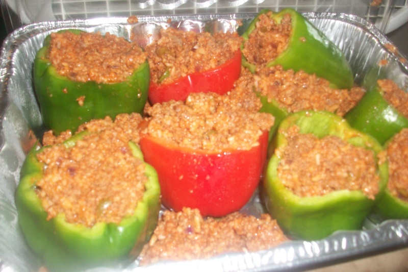 Sessy's stuffed peppers (In Ohio we call them Mangos)lol  Newest19
