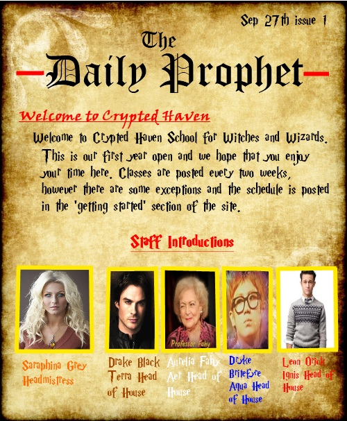 September Issue The Daily Prophet (Monthly newsletter) Spet_i11