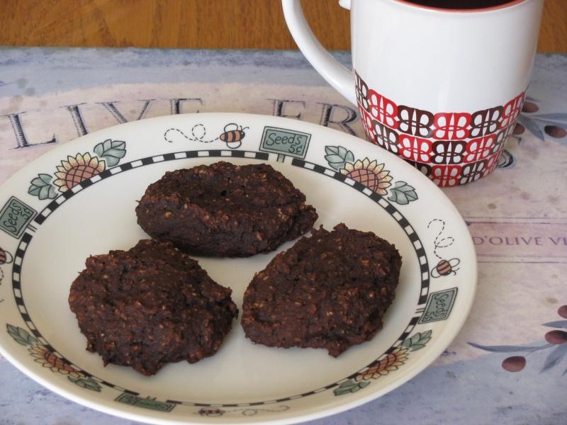 Galettes au chocolat, dattes, banane et tofu d'Ema Img_1810