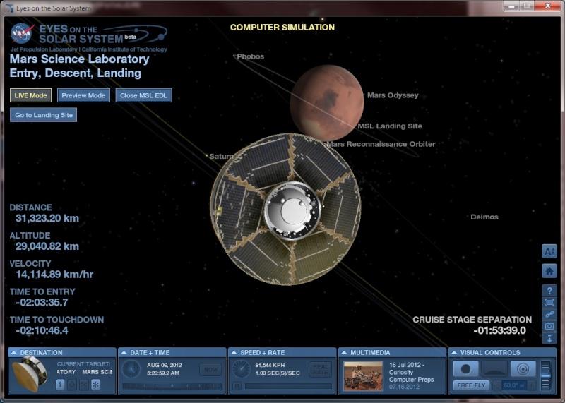 [Curiosity/MSL] Atterrissage sur Mars le 6 août 2012, 7h31 - Page 5 Image110